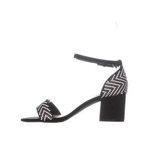 Callisto block heel suede sandals